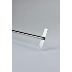 Straight stirrer, 316L stainless steel