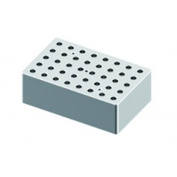 Block, used for 0.5mL tubes, 40 holes