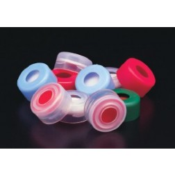 11mm Clr Snap Cap, PTFE/Silic with Slit Line, PK100