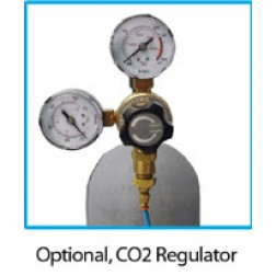 Optional CO2 gas regulator