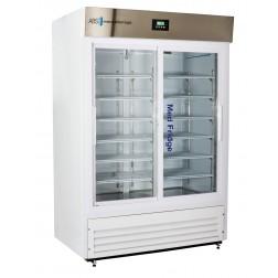 47 Cu. Ft. Premier Pharmacy Standard Glass Door Refrigerator; Double Slide Glass Door