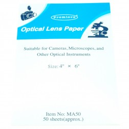 Lens Paper, 50 sheets 4x6in., PK25