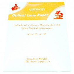 Lens Paper, 100 sheets 6x8in., PK25