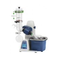 RE100-Pro Rotary Evaporator including vertical dry-ice condenser, 5L bath, 1000ml evaporating flas