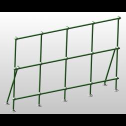 6 foot Fiberglass Table Top Mount Lab-Frame Kit.