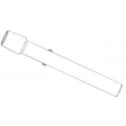Vapour tube, NS 24/40