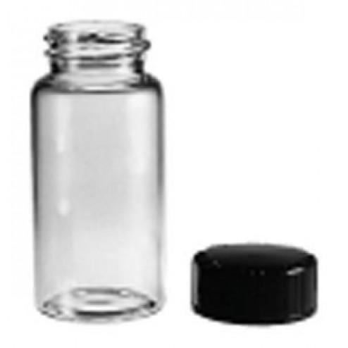 Glass vial, 19x65mm, 15-425thread, w/Cap, PK144