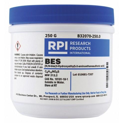 BES, N,N-bis, 2-Hydroxyethyl, -2-aminoethanesulfonic acid, 25 Grams CAS# 10191-18-1