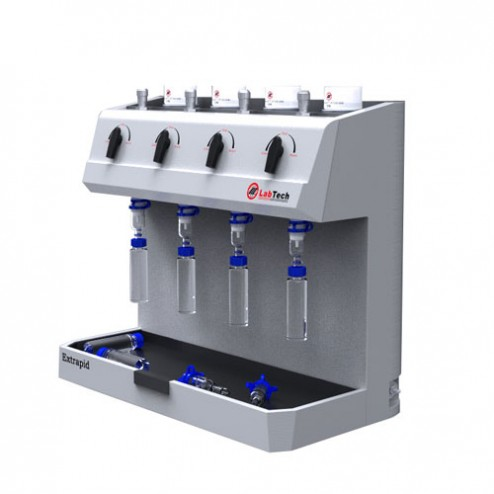 Extrapid Solid Phase Extraction System with VP50 vaccum pump, 110V/60Hz, with 1 Yr Warranty, EA /1