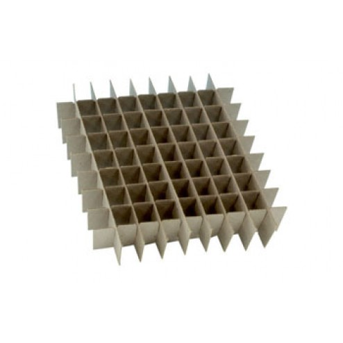 Freezer box divider, 81 hole 12/pk
