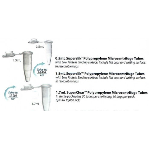 Labcon TUBE MICRO 1.7 PP ST, PK500