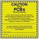 Vinyl Shipping Labels for Hazardous and Nonhazardous Waste, PK25