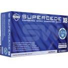 5 CASE MINIMUM ORDER ON ALL SW SAFAETY GLOVES - SW Supercede X8, Nitrile Exam Glove, M, PK100, CS1