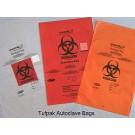 Secura'T Autoclavable Biohazard Bags Superior strength Clear AutocJavable Biohazard Bags, (8x12) I