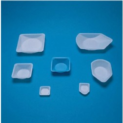 Fisherbrand Polystyrene Weigh Dish, Nat, 3.5X3.5X1in. CS500