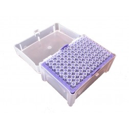 2-200ul MicroPette Universal Sterile Filtered Tips, Clear Color, Rack 10 x 96 (960)