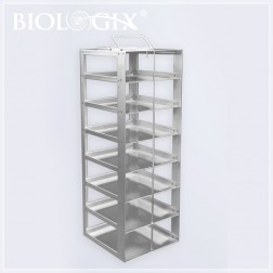 Stainless Steel 4X4 Freezer Rack With Sliding Drawers, EA1