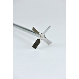 Cross stirrer, 316L stainless steel