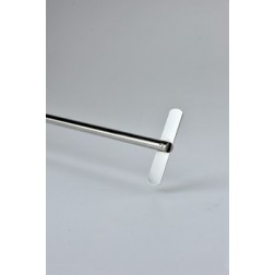 Straight stirrer, 316L stainless steel