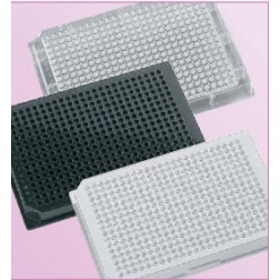 384-well microplate 120uL Polystyrene, Clear, Tissue Culture Treated, With Lid. Individually packe