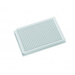 384-well microplate 120uL Polystyrene, White, PK /100