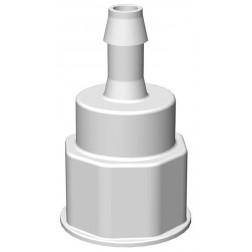 VersaBarb, Spigot Fitting, 1 1/8 Thread w/ 3/8in. HB EA1
