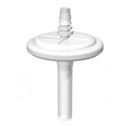 Vent Filter, 0.22um, 3/8'' Tubing, Non-Sterile PK2