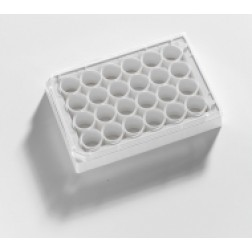 24-well microplate White. With Lid  Individually packed. Sterile, PK /10