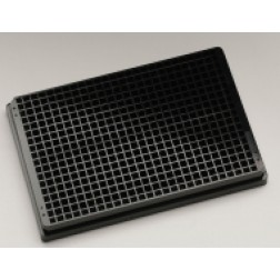 384-well microplate Cyclo-Olefin Polymer (COP) black clear bottomed plate square well microplates,