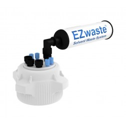 EZwaste System, 83mm Cap, 4x 1/16in, 3x 1/4in OD Tubing & Filter EA1