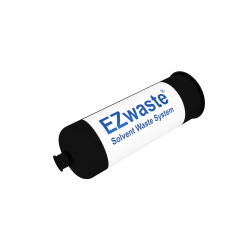 EZwaste, Filter, Exhaust, Large, 1/4 in NPT Female Port, HDPE, 1/pk EA1