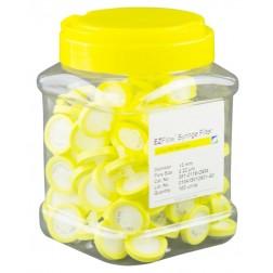 EZFlow Syringe Filter-Sample Prep, 0.45um Hydrophobic PTFE, 13mm, PK100