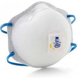 3M 8271 P95 Disposable Respirator w/ Exhalation Valve, 10/Box