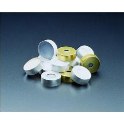 11mm Silver Magnetic Seal, Clear PTFE/Red Rubber Lined PK100 CS1000