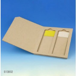 Slide Mailer, Cardboard, for 2 Slides, 50/Box, 20 Boxes/Unit, CS1000