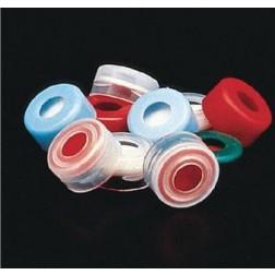 11mm Pink Snap Cap, 10mil PTFE Lined, PK100, CS1000