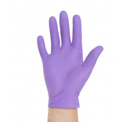 Glove blue Nitrile Extended Cuff (11 3/8in) PF Exam, Small