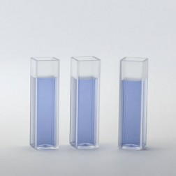 Macro fluorescence cuvettes, 4-sided, UV, Pack 100