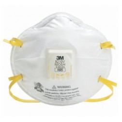 3M Comfort Plus Disposable Filtering Facepiece Respirator, N95, CS80