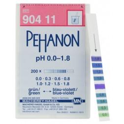 PEHANON pH 0.0-1.8, PK/200 strip