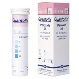 Quantofix Peroxide .5-25PPM Test Strips, Macherey-Nagel, PK100