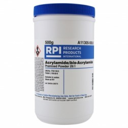 Acrylamide/bis-Acrylamide, Premixed Powder 29:1 Ratio, 500 Grams