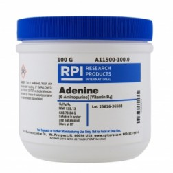 Adenine [6-Aminopurine] [Vitamin B4], 100 Grams