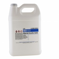 Acetic Acid, Glacial, 2.5 Liters