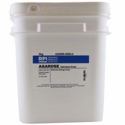 Agarose, for Routine Gel Electrophoresis, Molecular Biology Grade, High Gel Strength, 5 Kilograms