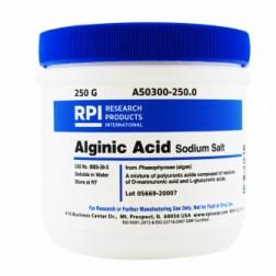 Alginic Acid Sodium Salt, 250 Grams CAS# 9005-38-3