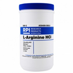 L-Arginine Monohydrochloride, 500 Grams CAS# 1119-34-2