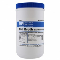 BHI Broth, Brain Heart Infusion Broth, 500 Grams