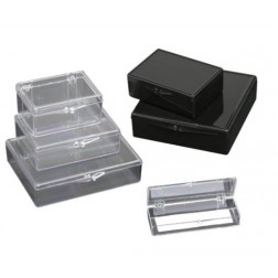 Western Blot Box, Removable Lid, Opaque Black, for Novex Minigel, 8.6x8.6x2.8cm, PK10