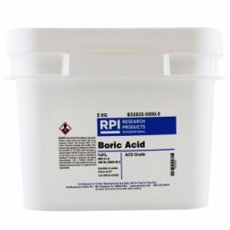 Boric Acid, Crystals, ACS Grade, 500 Grams CAS# 10043-35-3